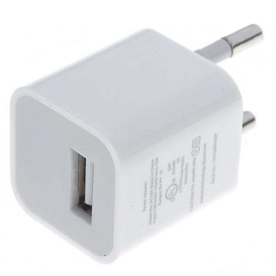 Cool EU Standard 1A USB Power Adapter / Charger for iPhone 4S , iPhone 4 , iPhone 3G / 3GS , iPod , Cell Phone , MP3 & MP4