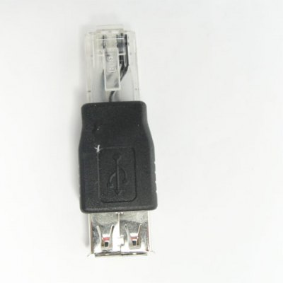 USB Type A Female to RJ45 Male Lancable Adapter