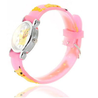 Lovely and Fashionable Pikachu Cartoon Wrist Watch for Children (Pink)Kids Watches<br>Lovely and Fashionable Pikachu Cartoon Wrist Watch for Children (Pink)<br><br>Brand: No<br>Watches categories: Children watch<br>Watch style: Lovely<br>Available Color: Pink<br>Movement type: Quartz watch<br>Shape of the dial: Round<br>Display type: Pointer<br>The bottom of the table: Ordinary<br>Case material: Stainless steel<br>Band material: Rubber<br>Clasp type: Pin buckle<br>Product weight: 0.05 kg<br>Package weight: 0.1 kg<br>Product size (L x W x H) : 19.8 x 2.5 x 0.8 cm<br>Package size (L x W x H): 20.8 x 3.5 x 1.8 cm<br>Package contents: 1 x Watch