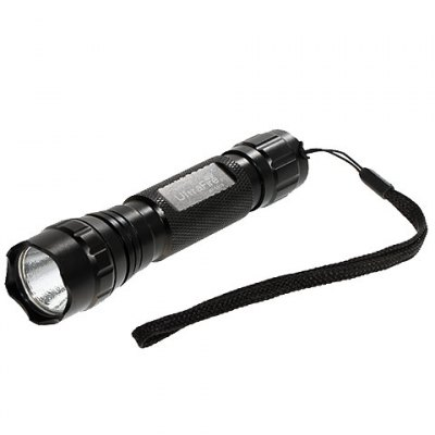 Ultrafire WF - 501B High Quality 3W Red Light LED Flashlight for Outdoors & Camping (1x18650/2x16340)