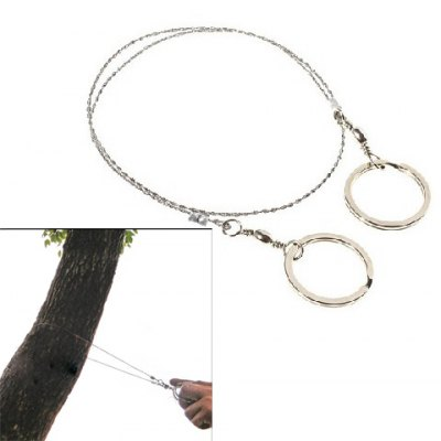 Useful Commando Wire Saw for Outdoor Camping
