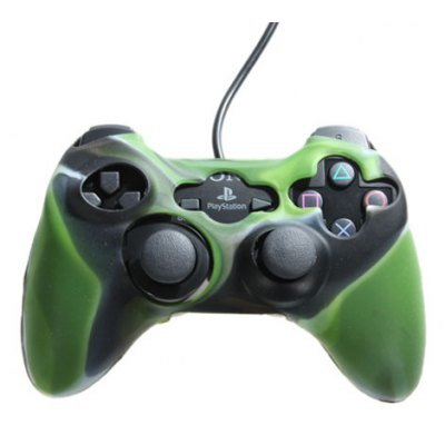Army Green Silicone Protective Case for Xbox 360 Controller