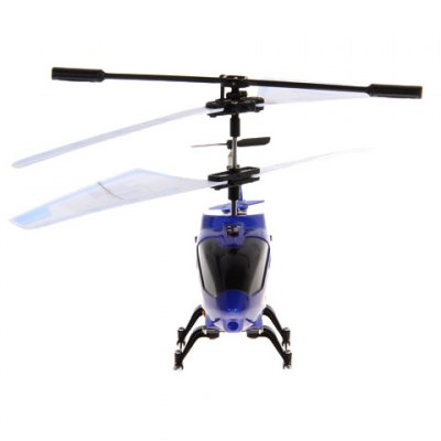 JC - 302 Mini Alloy RC 3.5 Channels Helicopter with Built - in Gyroscope Infrared Remote Contol (Blue)RC Helicopters<br>JC - 302 Mini Alloy RC 3.5 Channels Helicopter with Built - in Gyroscope Infrared Remote Contol (Blue)<br><br>Brand: others<br>Type: RC Helicopters<br>Features: Radio Control<br>Functions: Turn left/right, 360 degrees accurate orientation, Hover, Up/down, Forward/backward<br>Built-in Gyro: Yes<br>Age: Above 10 years old<br>Material: Alloy, Plastic, Electronic components<br>Channel: 3.5-Channels<br>Mode: Mode 2 (Left Hand Throttle)<br>Package Weight   : 0.410 kg<br>Package Size (L x W x H)  : 41.3 x 17.6 x 4.3 cm<br>Package Contents: 1 x Helicopter, 1 x Remote, 1 x Manual, 1 x USB Cable