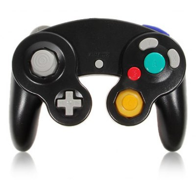 Advanced Game Controller for GameCube NGC and Wii - Black