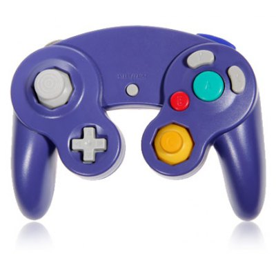 Advanced Game Controller for GameCube NGC and Wii - Purple