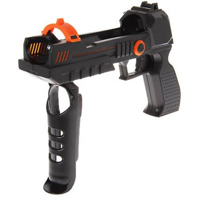 Гаджет   Speed Enchanced Tommy Gun with Optional Grip for PS3 And PC Game - Black Video Game