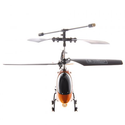Exquisite 2.5CH Gyro System Simulation Helicopter with Infrared Remote Control  -  Orange