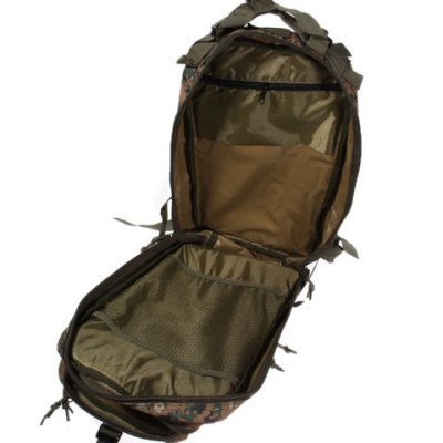 Digital Jungle Camouflage Style Combat Tactical Backpack Outdoor Cycling Knapsack