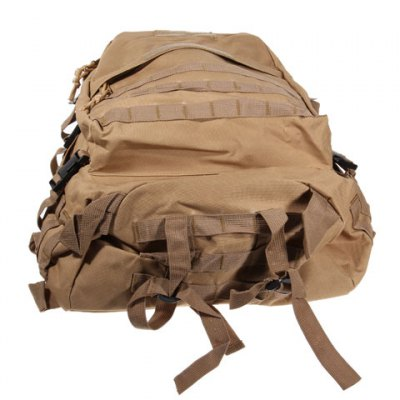 Large Military USMC Combat Tactical Backpack for Outdoor (Coyote Tan)
