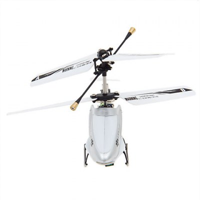 3 Channel Helicopter with GYRO iPhone/iPad/iPod Touch Control (White)