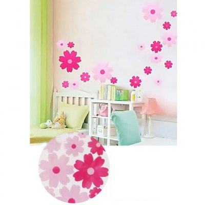 Originality and Romantic Sakura Pattern Printed Decals
