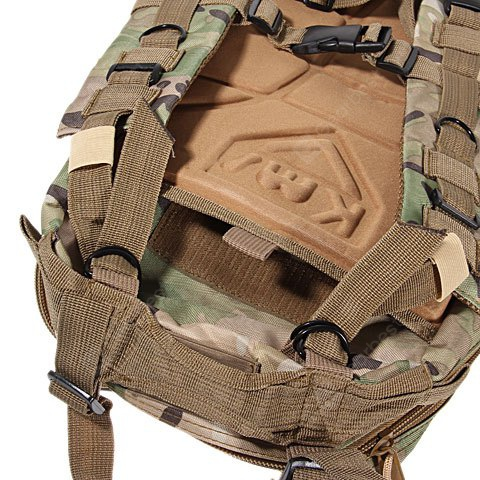 45L 25kg Load Bearing Multi-purpose Big Size CP Dual Shoulder Military Outdoor Tactical Backpack