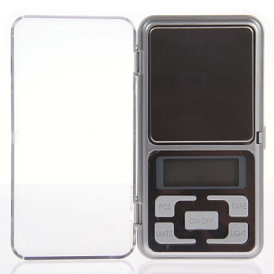 MH-Series 200g/0.01g Digital Pocket Scale - Silver