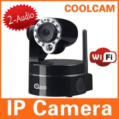 NIP-09BH 0.3MP Nightvision IP Camera - Black
