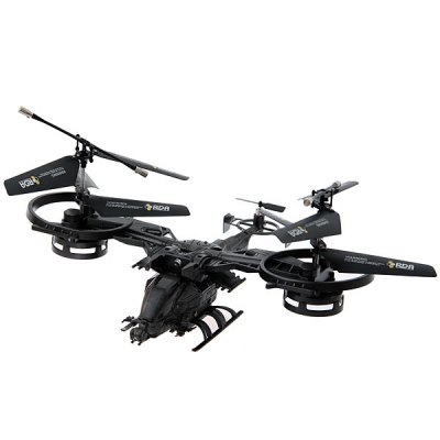 Wonderful Avatar 2.4G 4 - Channel Helicopter with Gyro (Matt Black)