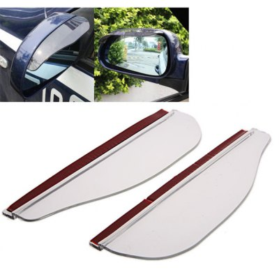Car Clear Rear View Mirror Rainproof Blade - Transparent