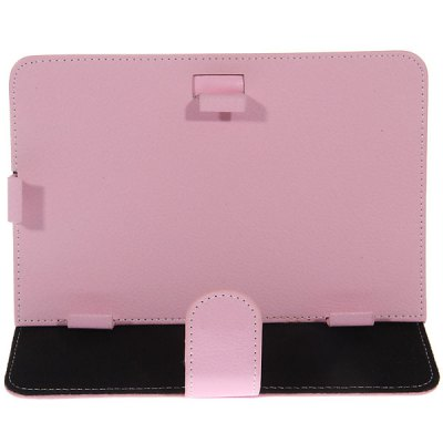 Durable PU Leather Case for 7 inch Tablet PC White