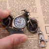 Motorbike Shaped Quartz Hours Analog Pocket Watch with Hook for Unisex for sale