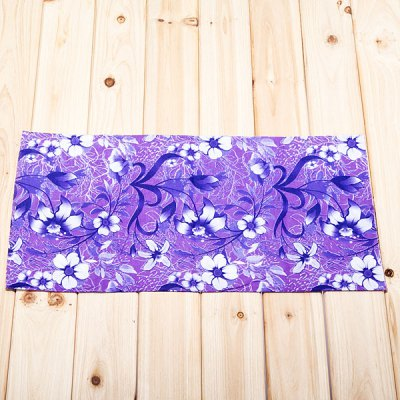 Multi-function Flower Pattern Polyester Material Head Kerchief/Hood (Purple)Cycling<br>Multi-function Flower Pattern Polyester Material Head Kerchief/Hood (Purple)<br>