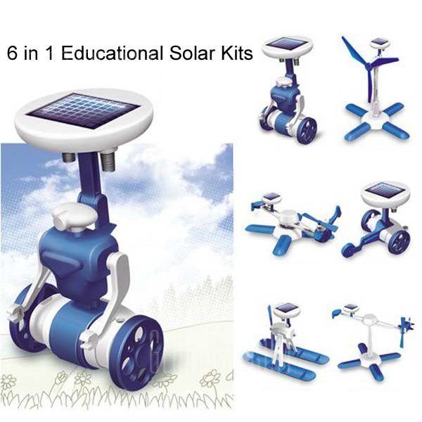 New 6 in 1 Educational Solar Kits 6 Different Models