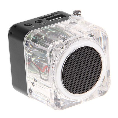 New Arrival TT - 028 Multimedia Portable Speaker with FM Radio /LCD screen /SD Slot /Line - In /USB Jack