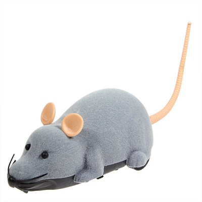 Interesting Electronic Remote Control Mouse Toy for Trick/Playing with Cat