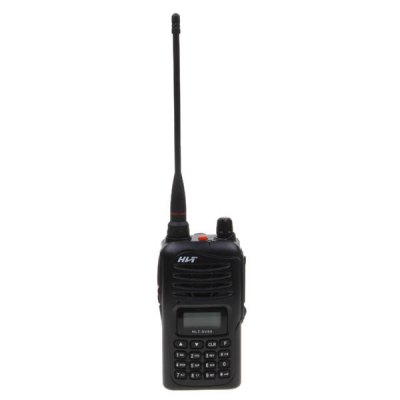 HLT-SV89 VHF(136-174MHz) 5W 199Channels Walkie Talkies with VOX CTCSS DCS Group Function - Black