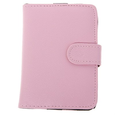 ФОТО Clasp Artificial Leather Case with 5 inch Wallet Style for MP3 , MP4 , MP5