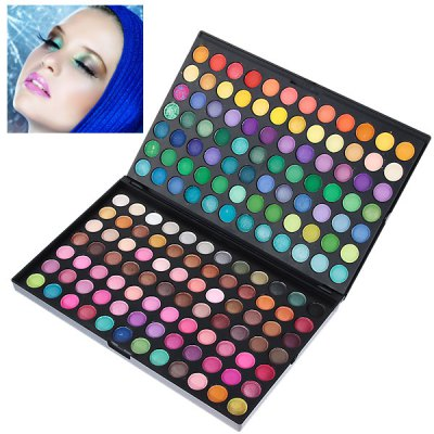 Professional Cosmetic 168 Colors Eye Shadows Palette with Rectangle Box