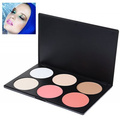Cosmetic Shading Face Powder Set (6 Colors)