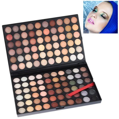 NO.04 Professional Cosmetic 120 Colors Eye Shadows Palette with Rectangle Box