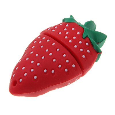 16GB Popular Strawberry Shaped USB Flash Drive Silicon U DiskUSB Flash Drives<br>16GB Popular Strawberry Shaped USB Flash Drive Silicon U Disk<br><br>Capacity: 16G<br>Type: USB Stick<br>Features: Novelty<br>Style: Novelty<br>USB: USB 2.0<br>Product Weight: 20 g<br>Package Weight: 0.080 kg<br>Product Size (L x W x H): 5 x 3 x 2 cm<br>Package Size (L x W x H): 8 x 6 x 5 cm<br>Package Contents: 1 x Silicon Flash Drives U Disk