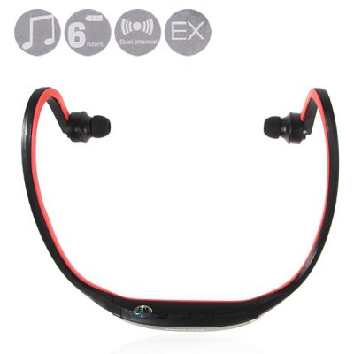 New Fashion Sport MP3 Player Headset with TF Card Slot, Built - in Battery