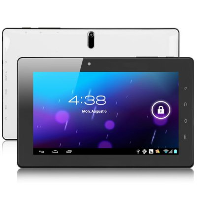 Refurbished FreeLander PD20 Great Version 7 inch Tablet PC With GPS Android 4.0 Telechips TCC8923 1.2GHz 8GB White