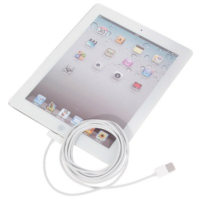 Гаджет   Superb Style 3M 30 Pin USB Data Sync Charging Cable for iPhone 4 / 4S / The New iPad / iPad 2 iPhone Cables & Adapters