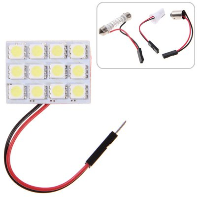 White Light Car Light (12 x 5050 SMD LED)