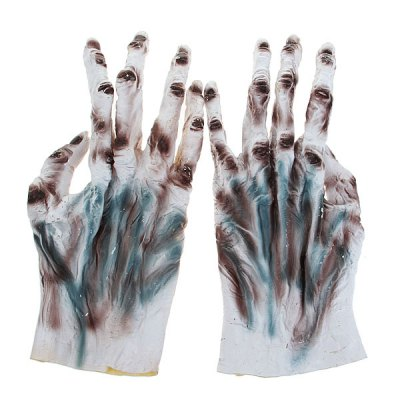 Фотография Halloween Horror Male and Female Witch Gloves of High Quality for Adult