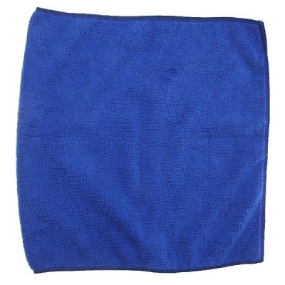 33 x 65 CM Microfiber Towel Car Cleaning Detailing Fabric Absorbent Quick Dry Cloth Dust Rags - Blue