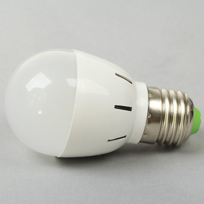 E27 3W AC85 - 265V White Ball Bulb