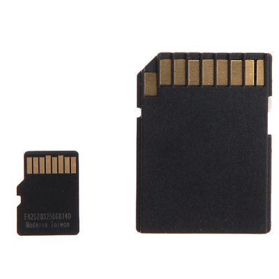 16GB High Quality Micro SDHC /SD Memory Card and Card Adapter
