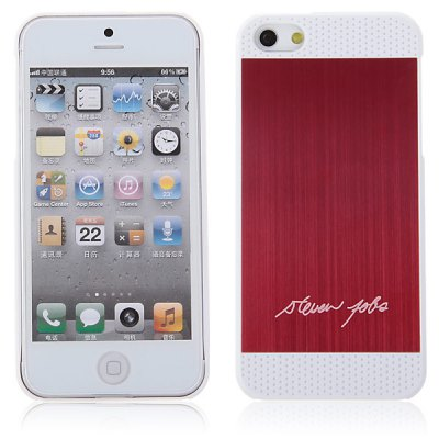 Popular Style Brushed Two - tone PC Shell Case for iPhone 5 / 5S