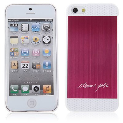 Two-tone Brushed Plastic Hard Case for iPhone 5