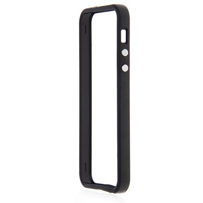 Гаджет   10PCS Wholesale Cool Bumper Protective TPU and Plastic Case for iPhone 5 - Black iPhone Cases/Covers