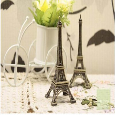 10cm Bronze Color Eiffel Tower Model