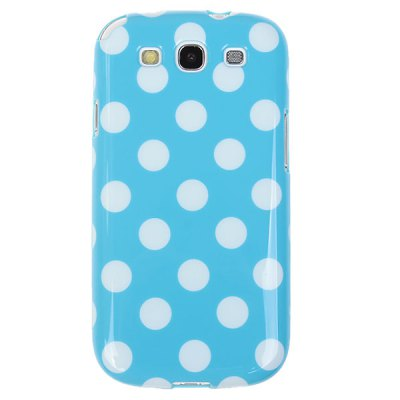 Cool Style Dots Smooth TPU Shell Case for Samsung Galaxy S III i9300