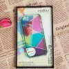 Fashion Colorful Bottom Geometric Drawing Bayer Material Protective Case Cover for iPhone 5 ( Green ) deal