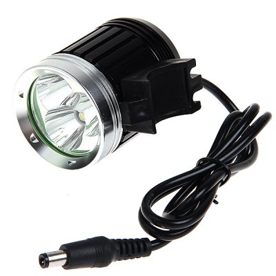 3 x Cree XM - L T6 3000lm 4 - Mode 18650 LED Headlamp with Battery and ChargerHeadlights<br>3 x Cree XM - L T6 3000lm 4 - Mode 18650 LED Headlamp with Battery and Charger<br><br>Function: Night Riding, Hunting, Camping, Seeking Survival, Hiking, Walking<br>Feature: Can be used as headlamp or bicycle light, Waterproof Battery Pack<br>Lumen: 3000lm<br>Emitter: 3 x Cree XML-T6<br>Mode: 4 (High &gt; Mid &gt; Low &gt; Strobe)<br>Battery  : 8.4V 4800mAh battery pack - 4 x 18650 battery (Included)<br>Power source: Battery<br>Reflector: Aluminum smooth reflector<br>Lens: Toughened Ultra-clear Glass Lens with Anti-reflective Coating<br>Color: Black<br>Package weight: 0.41 kg<br>Package size (L x W x H): 20 x 18 x 6 cm<br>Package Contents: 1 x Headlamp, 1 x Battery Pack, 1 x Wall Charger, 2 x O-ring