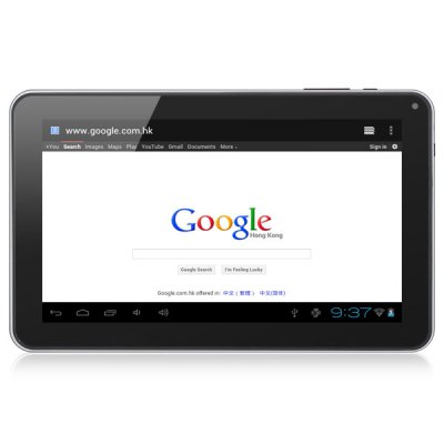 B901 Dual Cameras Version 9 inch Tablet PC Android 4.0 All Winner A13 1GHz 8GB