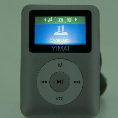 LCD Display Rechargeable Digital MP3 Music Player Support TF Card