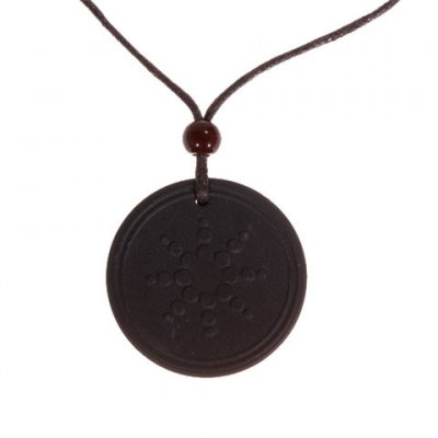 Quantun Pendant Necklace Germani Scalar Energy with Authenticity Card - Black
